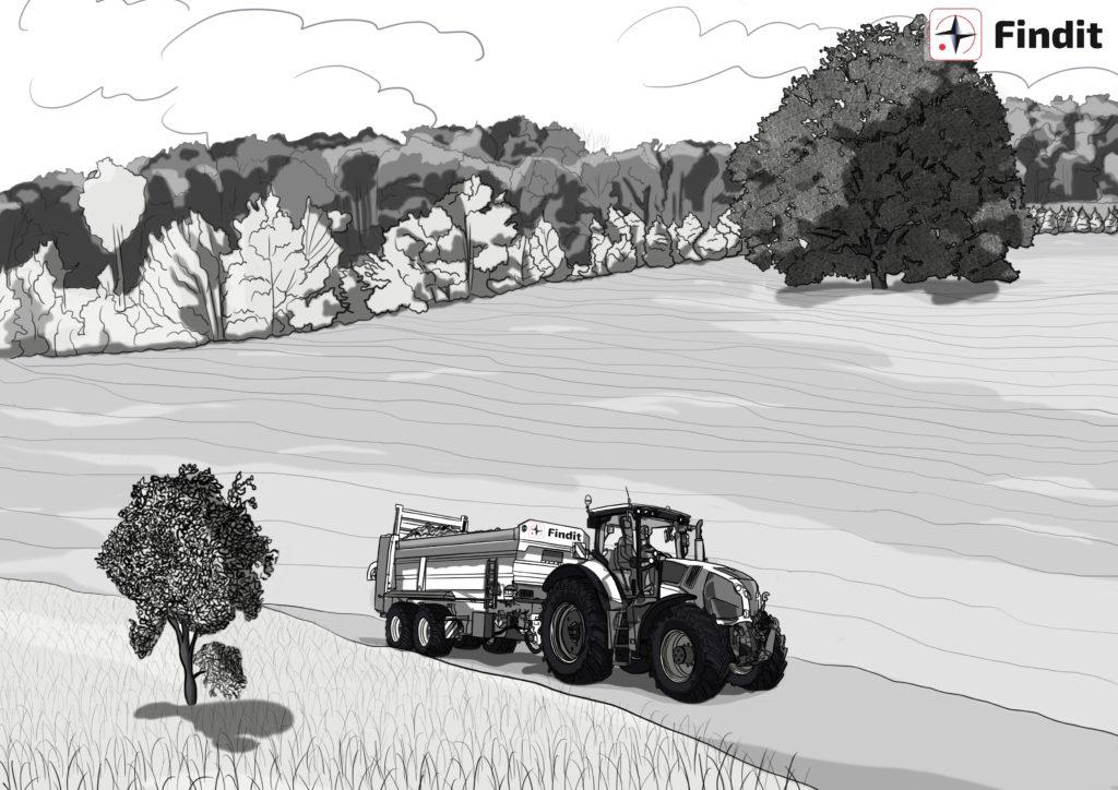 Traçabilité et visualisation de vos bennes agricoles